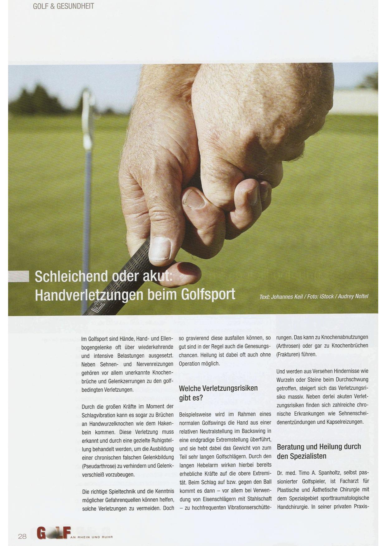 Golf an Rhein und Ruhr